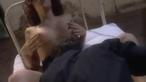 Blonde pornstar fucked from behind and bareback by voyeur priest