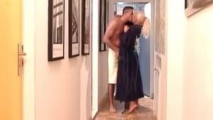 Big tit blonde gets some intense pounding
