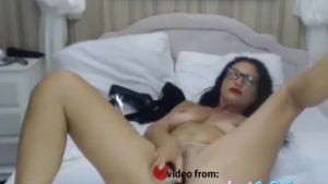 Charismatic milf with blond hair, Shona River is sucking her best friend's dick, for the first time