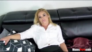 Hot milf is screaming from lust while getting fucked, because she is in the mood to cum