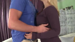 Sarah Vandella is a mature blonde woman who likes to have group sex and a facial cumshot