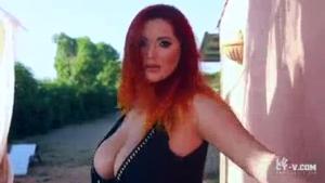 Perfect Vixen Ava fucked thru an amazing gloryhole orgy
