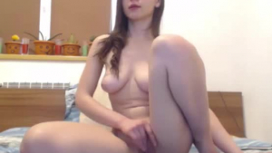 Brunette woman with big tits likes to get doublefucked in the middle of the day