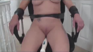 Blonde MILF Tied to Chair