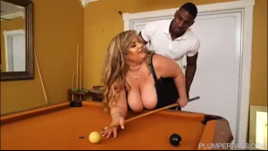 Busty bitch, Veronica Vega is in the mood for a casual foursome with a horny, black guy
