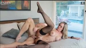 Brandi Love was eager for sex and decided to spread her legs wide to get nailed