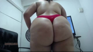 Natural large butt bounces with merry orgasm after extreme sodom love and worshipping