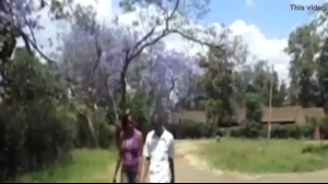 African couple have a threesome orgy parties