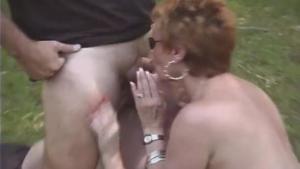 Fake Trailer Park Teen Worships a Cock