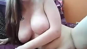 Big Tit Amateur MILFs Pussy Sucking And Sloppy Doggie From Nothing But a Leather Toy