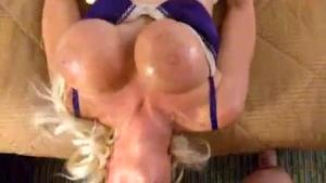 Gagging & Orgasm on horse