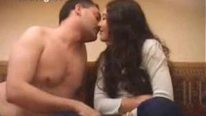 Standing Arab Blowjob fuck with Cumshot