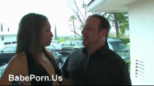 Alexis Wild and Cole Morgan hot milms fuck with strapons in threesome.