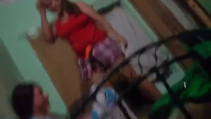 Indian Aunty having Sex with Brother in Slim Massage Room