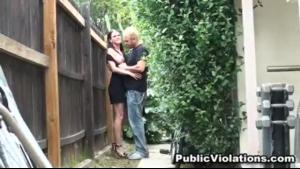 American grannies Jennifer Jones and Bridgette B. have sex in front of the camera
