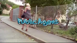 Public Agent Big boobed sexy chick with natural tiny tits