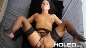 Dakota Lynn cums on ass