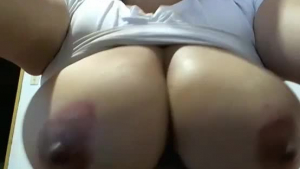 Big tited milf, Abby Hays is riding her husband's hard cock, while in his office