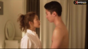 Korean Couple takes a shower Have some fun and show your ass