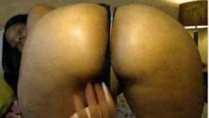 Phat black booty ass