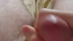 Butthole Jerking Off, Her Fingering Pussy with Vibrator while Talking on Phone with you