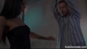 Euro babe jizz sprayed after outdoor sex tape