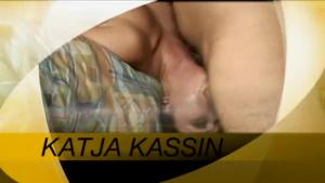 teen Katja Kassin sucks an Irish guys cock