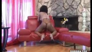 Big Ass Brunette Cumming in Hotel Room