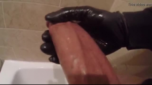 Sucking a big black dong