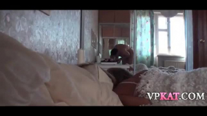 Busty guy wakes up his stepteen and she fucking his hard dick