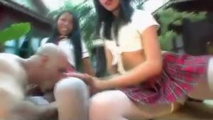 Asian Tgirl Tori Lux takes that black dick down her creamy twat balls deep