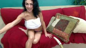 Persia Bardot flirts and asks for engulfing
