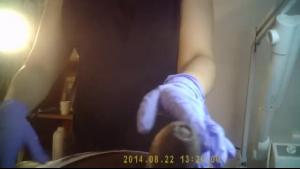 Hidden Camera Grinding up that Tiny Asian's Latina Anus
