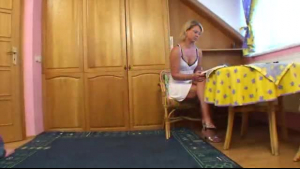 Stepson and momaking pussy toying