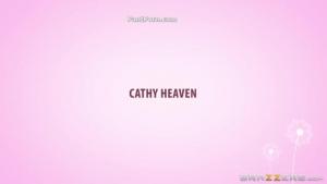Beautiful Cathy Heaven Riding Dildo