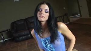 Chesty Brunette Slut 080