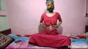 Indian wife in her bdsm action