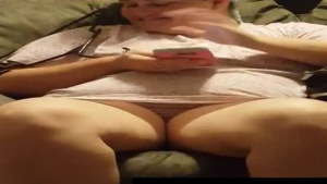 Hunk is playing with Sophia Leone ass