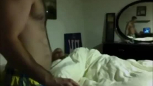 Two beautiful tall pigs getting their ass fucked