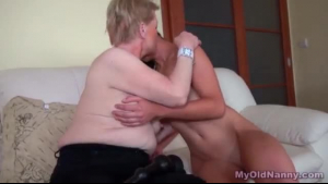 Mature Bombshell Enjoys Dick In Her Tight Pussy