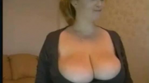 Amazing BBW with Perfect Big Fat Boobs Deep Anal Sex
