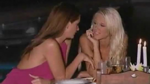 Passionate babes are making love in front of their voyeurs, while having a private party.