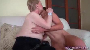 Mature swinger enjoys big cock swallowing big cock