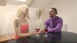 Glam fetish blonde likes all kinds of sex adventure in her working room